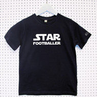 Personalised 'Named Star Wars' Child's Organic Cotton T-shirt