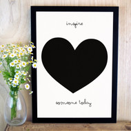 Quote 'Inspire Someone Today' Print