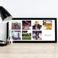Personalised Rectangle Instagram Photo Album - 5 photos