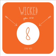 Wicked 8 Birthday Greeting Card