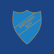Birthday Boy Badge Greeting Card