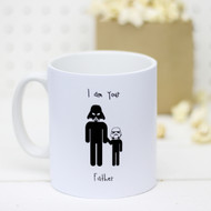 Star Wars 'I Am Your Father' Dad And Child Mug