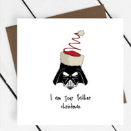 'I am Your Father Christmas' Star Wars Greeting Card