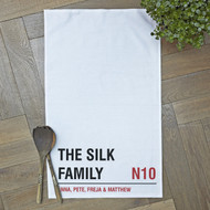 Personalised 'Street Tea Towels'