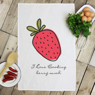 Personalised 'Fruit' Tea Towels