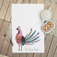 Personalised 'Bird' Tea Towels