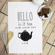 Personalised 'Is it Tea You're Looking For' Tea Towels