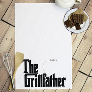 Personalised 'The Grillfather' Tea Towels