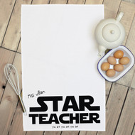 Personalised 'Star Teacher' Tea Towels