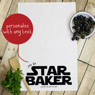 Personalised 'Star Baker' Tea Towels