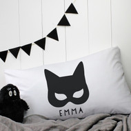 Personalised 'Cat Woman' Pillow case