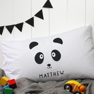 Personalised 'Panda' Pillow Case