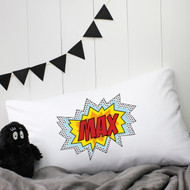 Personalised 'Pop Art' Pillow Case