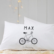 Personalised 'Hand Drawnl' Pillow Case