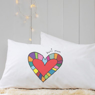 Personalised 'Heart'  Pillow Case
