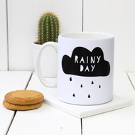 Personalised 'Rainy Day' mug