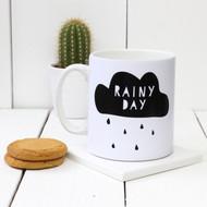 Personalised 'Rainy Day' mug