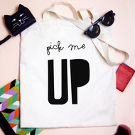 Personalised 'Pick me Up' Tote Bag
