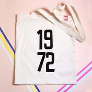 Personalised  'Year' Tote Bag