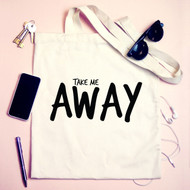 'Take Me Away' Tote Bag