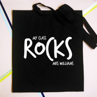 Personalised 'My Class Rocks' Bag