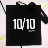 Personalised '10/10' Bag