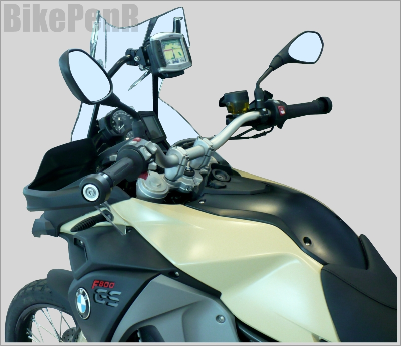 motorcycle mounts custom gps mounts bmw f800 gs adventure my 2013. Black Bedroom Furniture Sets. Home Design Ideas