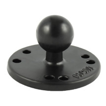 "RAM Mount STD 2.5"" Round Base with AMPS Hole Pattern"