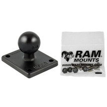 RAM Mount Garmin 4 Hole AMPS Adapter & Adapter