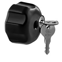 RAM Mount Locking Knob with 1/4-20 Brass Hole for B Size Arms