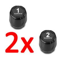 2 x Garmin Tyre Pressure Monitor Sensor