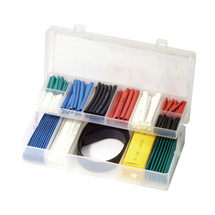 Bikeservice 171 Piece Coloured Heat Shrink Tube Set