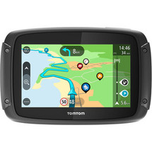 TomTom Rider 450 Motorcycle GPS Navigator Worldwide Maps