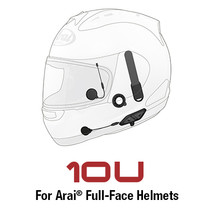 Sena 10U Arai Full Face Bluetooth Intercom Headset