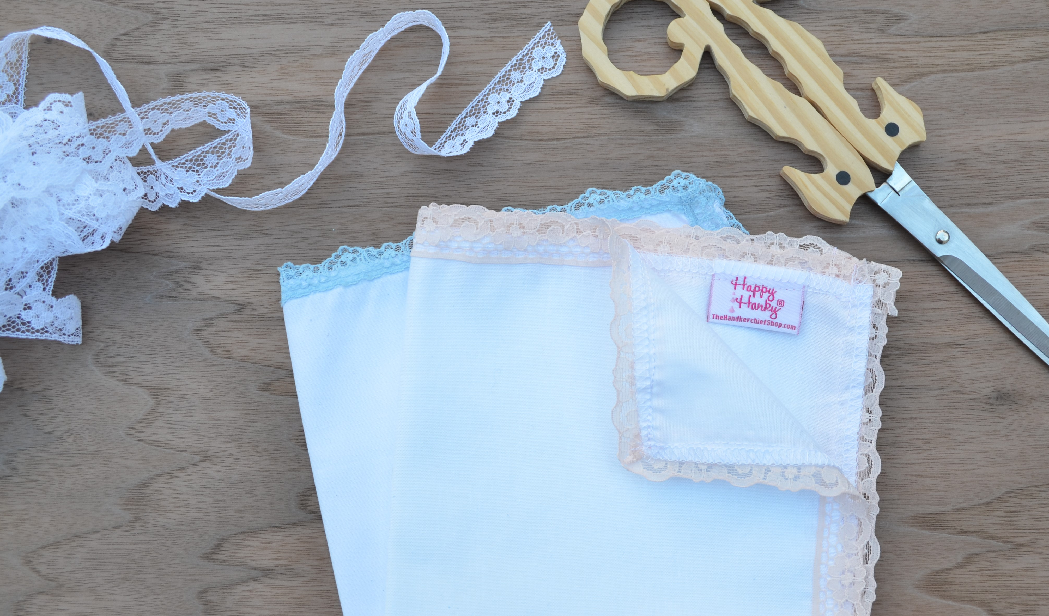 American Made Wedding Handkerchiefs