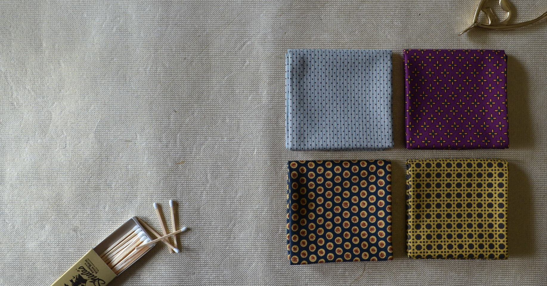 New Men's Handkerchief Styles