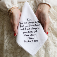 Father of the Bride handkerchief