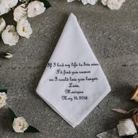 Groom Handkerchief