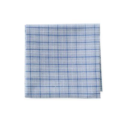 Plaid Powder Blue Handkerchief