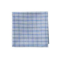 Plaid Powder Blue Handkerchief