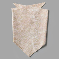 Gold Line & Blush Pet-kerchief Bandana