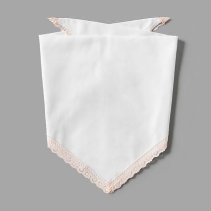 Blush Pink Lace Pet-kerchief