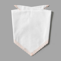 Blush Pink Lace Pet-kerchief