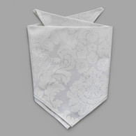 White Damask Pet-kerchief Bandana