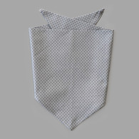 Grey Diamond Pet-kerchief Bandana