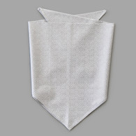 Silver Dot Pet-kerchief Bandana