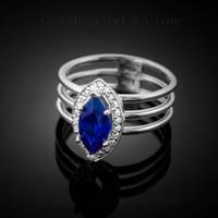 September (sapphire blue)