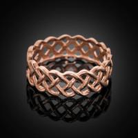 Gold Celtic Rings