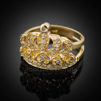Gold Quinceanera Ring