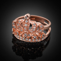 Rose Gold Quinceanera Ring